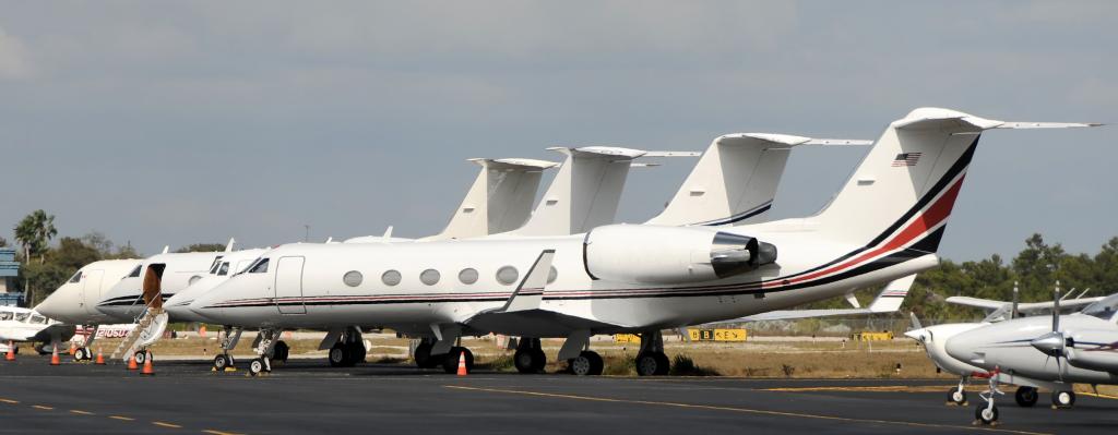 Fleet of Business Jets